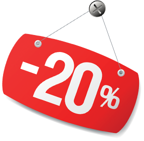 Летняя скидка: 20%